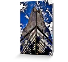 Willis Tower Reflections Greeting Card