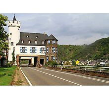 On the Mosel river Germany Photographic Print