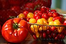 My August Harvest by Eileen McVey