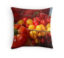 My August Harvest Throw Pillow