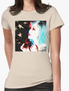 FREAK OUT Womens Fitted T-Shirt