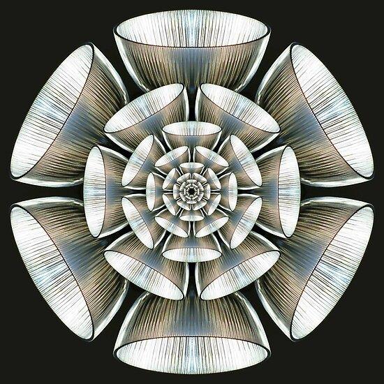 Glass Kaleidoscope by Yampimon