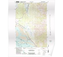 USGS Topo Map Washington State WA Chinook 240498 1949 24000 Poster
