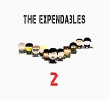 The Expendables 2 in South Park Men's Baseball ¾ T-Shirt