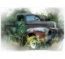 Old Truck Poster