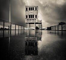 Pit lane by Trevor Middleton