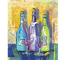 Wine Wine Wine Photographic Print