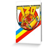720 - Retro Nintendo Skateboarding Videogame  Greeting Card