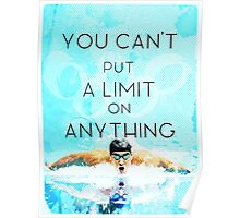 Swimming with no limits Poster
