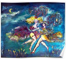 MASQUERADE DANCING  IN THE NIGHT Poster