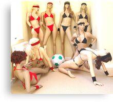 Beach Volleyball - Meet the Teams Metal Print
