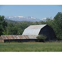 OH, THOSE ROADSIDE BARNS! Photographic Print