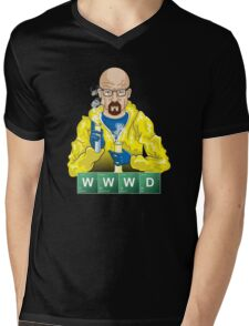 What Would Walt Do? Mens V-Neck T-Shirt