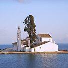 Pontikonisi Corfu by Fiona Mouzakitis