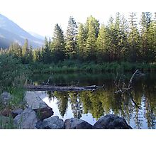 BEAVER POND ON THE BOULDER Photographic Print