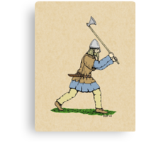 Viking Warrior Canvas Print