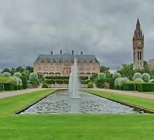 The Fountains at Eaton Hall Chester by AnnDixon