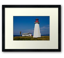 Enragée Point Light Framed Print