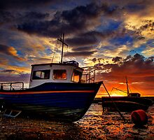 In The Harbour by Mal Bray