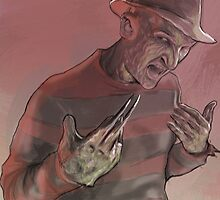 One, Two, Freddy's Coming For You! by arrogancy
