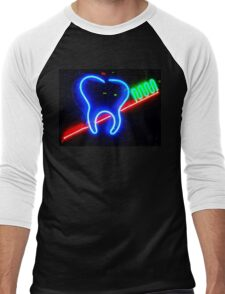 Brush YourTeeth Men's Baseball ¾ T-Shirt