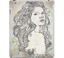 Elven Girl  iPad Case/Skin