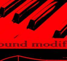 Synth Keyboard Sound Modify Sticker
