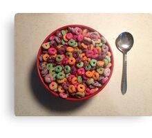 Cereal Metal Print