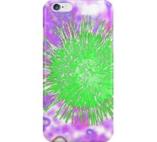 Green Burst iPhone Case/Skin
