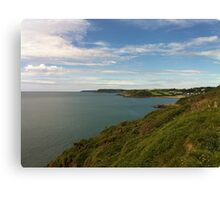 Oh I do love being beside the seaside Canvas Print