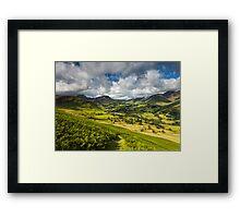 The Newlands Valley Framed Print