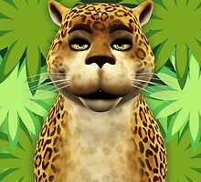 Children's Leopard Poster - Print by Moonlake