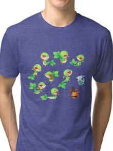 Snivy Gang Tri-blend T-Shirt
