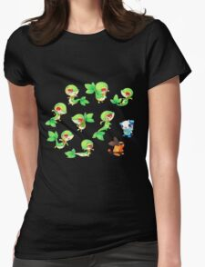 Snivy Gang Womens Fitted T-Shirt