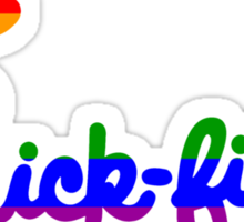 Gay Pride Chick-fil-A Logo Sticker