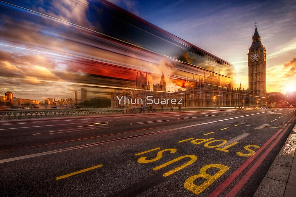 Big Ben Bus Stop by Yhun Suarez