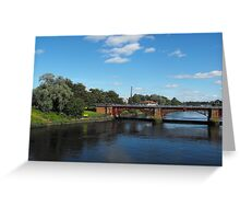 River Clyde, Glasgow, Scotland Greeting Card