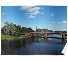 River Clyde, Glasgow, Scotland Poster