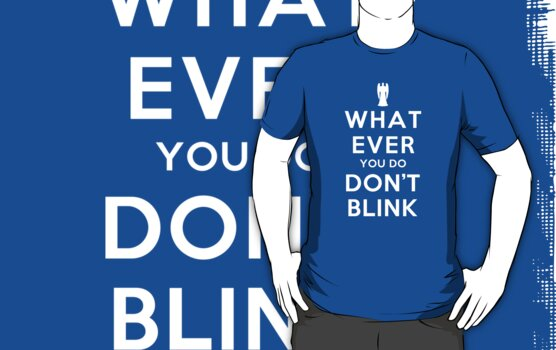 Whatever You Do, Don't Blink (Dark Shirts) with Angel by oawan