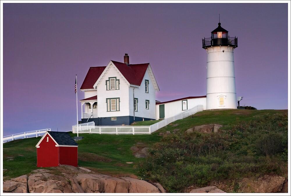 Nubble Lighthouse, Maine by Markus Wanninger