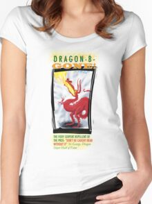 Dragon-B-Gone Fiery Serpent repellent Women's Fitted Scoop T-Shirt