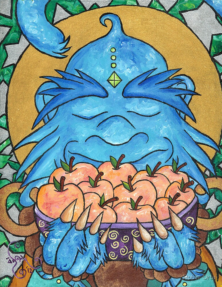 Monkey Monk 2012 : Peaches For everyone Part 2 by Robin  Orta