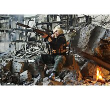 Grozny march 2005 Photographic Print
