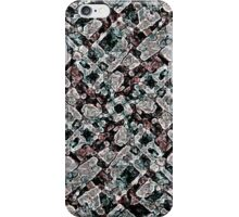 Abstract Digital Stoneware iPhone Case/Skin