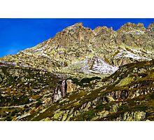 Swiss mountains Photographic Print