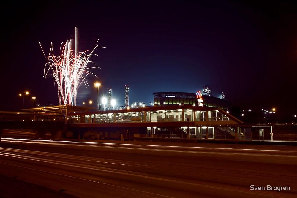 Chicago White Sox Homer fireworks by Sven Brogren