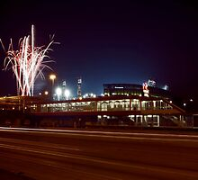 Chicago White Sox Homer fireworks by Sven Brogren
