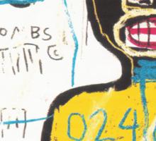 basquait Sticker