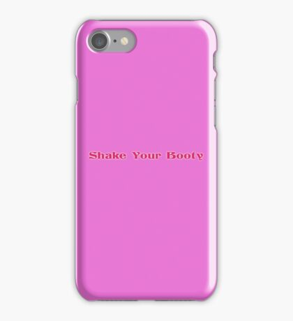 Disco Babe - Shake Your Booty - T-Shirt iPhone Case/Skin