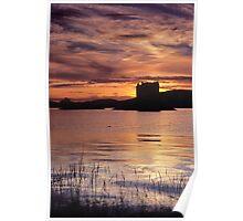 Sunset, Castle Stalker Poster